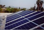 solar panels create clean electricity