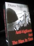 Anti-Vigilante and the Rips in Time- book cover art