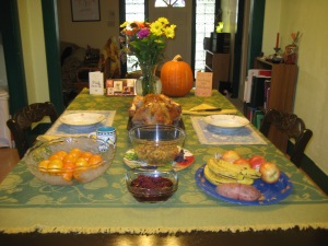 Thanksgiving Dinner 2011-1