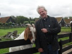 Wade with goat at Zaanshe Schanse