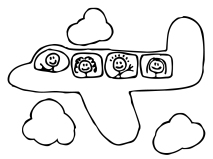 airplane- cartoon