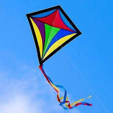 kite-flying in the wind-color