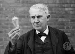 Thomas Edison and ligthbulb