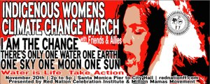 Indigenous Women's Climate Change March 2015- logo