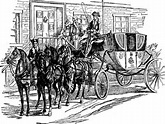 equipage- horse and carriage