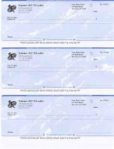 bank checks
