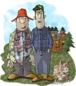 country bumpkins- cartoon