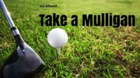 taking a Mulligan (words)